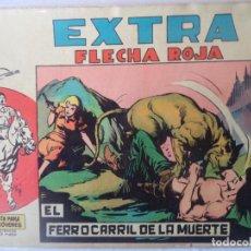 BDs: FLECHA ROJA EXTRA Nº 6 ORIGINAL. Lote 183999287