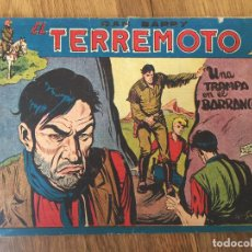 Giornalini: DAN BARRY EL TERREMOTO - NUMERO 50 - MAGA, ORIGINAL - GCH. Lote 183999383