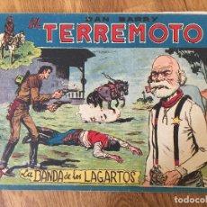 Giornalini: DAN BARRY EL TERREMOTO - NUMERO 55 - MAGA, ORIGINAL - GCH. Lote 184002227