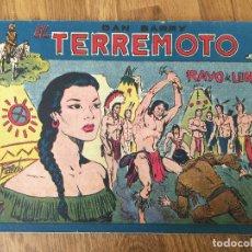 Giornalini: DAN BARRY EL TERREMOTO - NUMERO 59 - MAGA, ORIGINAL - GCH. Lote 184002457