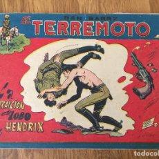 Giornalini: DAN BARRY EL TERREMOTO - NUMERO 61 - MAGA, ORIGINAL - GCH. Lote 184002605