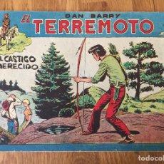 Giornalini: DAN BARRY EL TERREMOTO - NUMERO 67 - MAGA, ORIGINAL - GCH. Lote 184002663