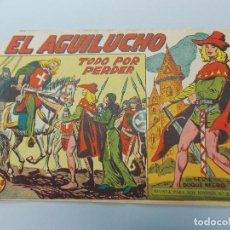 Tebeos: COMIC, EL AGUILUCHO Nº 49, TODO POR PERDER, EDITORIAL MAGA, 1959 - ORIGINAL ... L490. Lote 184099327