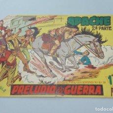 Tebeos: COMIC, APACHE 2ª PARTE Nº 1, PRELUDIO DE GUERRA, 1958 - ORIGINAL ... L492. Lote 184101646