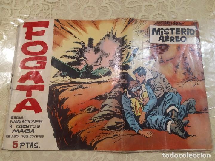 GUÍA DE LOTES VENDIDOS FOGATA Nº 4 ORIGINAL EDITORIAL MAGA 1963 - MUY DIFICIL (Tebeos y Comics - Maga - Otros)
