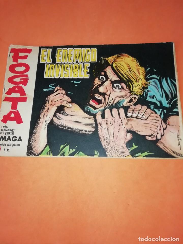 FOGATA. EL ENEMIGO INVISIBLE. Nº 32 EDITORIAL MAGA 1964. (Tebeos y Comics - Maga - Otros)