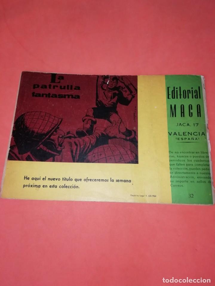 Tebeos: FOGATA. EL ENEMIGO INVISIBLE. Nº 32 EDITORIAL MAGA 1964. - Foto 2 - 184353235