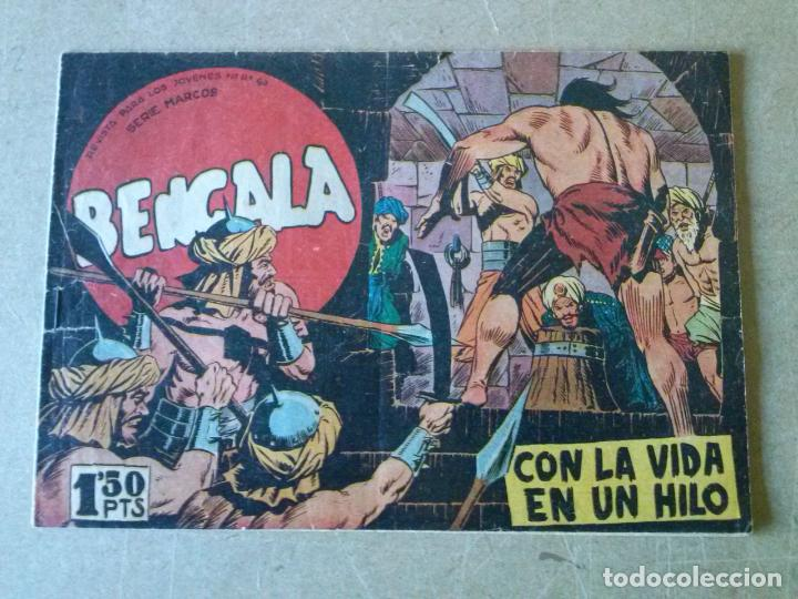 BENGALA Nº 20 - MAGA - BIEN 1ª (Tebeos y Comics - Maga - Bengala)