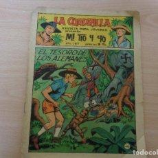 Tebeos: LA CUADRILLA NÚM 167 DE EDITORIAL MAGA. Lote 184518615