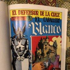 Tebeos: EL DEFENSOR DE LA CRUZ: EL CABALLERO BLANCO - NÚMEROS DEL 1 AL 30 COMPLETA. Lote 186063497
