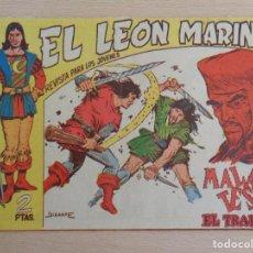 Tebeos: EL LEÓN MARINO NÚM. 9. EDITA MAGA. BUEN ESTADO. Lote 186166045