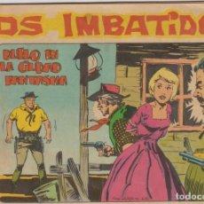 Tebeos: LOS IMBATIDOS -- N º 15 DUELO EN CIUDAD FANTASMA . Lote 186174643