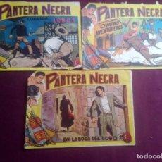 Tebeos: PANTERA NEGRA. 3 NÚMEROS ORIGINALES. Lote 186227888