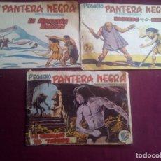 Tebeos: PEQUEÑO PANTERA NEGRA. 3 NÚMEROS ORIGINALES. Lote 186227902