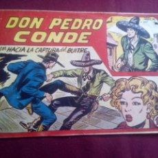 Tebeos: DON PEDRO CONDE. Lote 186229131