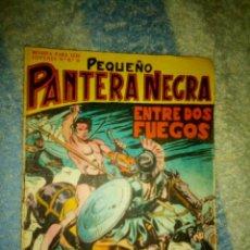 Tebeos: PEQUEÑO PANTERA NEGRA - Nº 107 -ENTRE DOS FUEGOS-1959- GRAN MIGUEL QUESADA-BUENO-DIFÍCIL-2503. Lote 186460432