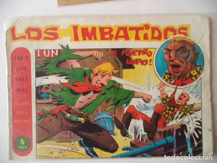 LOS IMBATIDOS Nº 29 ORIGINAL (Tebeos y Comics - Maga - Otros)