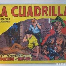 Tebeos: LA CUADRILLA Nº 4- DE MAGA-EXCELENTE ESTADO. Lote 187083950