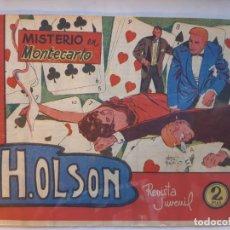 Tebeos: H.OLSON Nº 4, EDITORIAL MAGA-EXCELENTE ESTADO. Lote 187087723