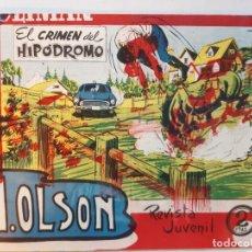 Tebeos: H.OLSON Nº 5-, EDITORIAL MAGA-EXCELENTE ESTADO. Lote 187088065
