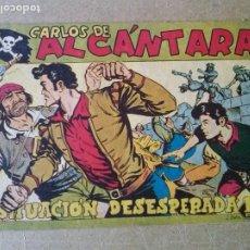 Tebeos: CARLOS DE ALCANTARA -Nº 27 - MAGA. Lote 187432448