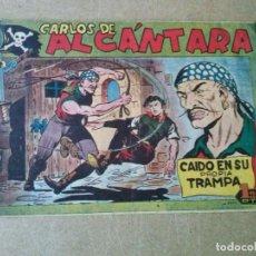 Tebeos: CARLOS DE ALCANTARA -Nº 23 - MAGA. Lote 187432576