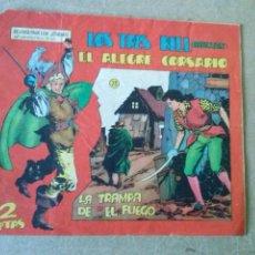 Tebeos: EL ALEGRE CORSARIO - LOS TRES BILL - Nº 23 - MAGA. Lote 187495437