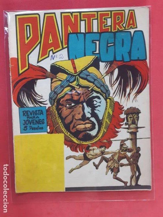 PANTERA NEGRA Nº 2 REVISTA PARA JÓVENES MAGA (Tebeos y Comics - Maga - Pantera Negra)