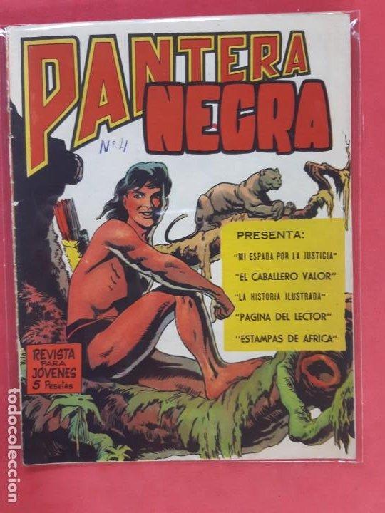PANTERA NEGRA Nº 4 REVISTA PARA JÓVENES MAGA (Tebeos y Comics - Maga - Pantera Negra)