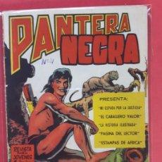 Tebeos: PANTERA NEGRA Nº 4 REVISTA PARA JÓVENES MAGA. Lote 187502857