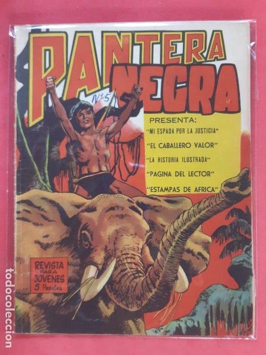 PANTERA NEGRA Nº 5 REVISTA PARA JÓVENES MAGA (Tebeos y Comics - Maga - Pantera Negra)