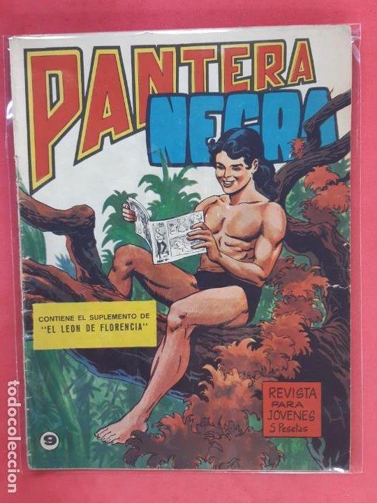PANTERA NEGRA Nº 9 REVISTA PARA JÓVENES MAGA (Tebeos y Comics - Maga - Pantera Negra)