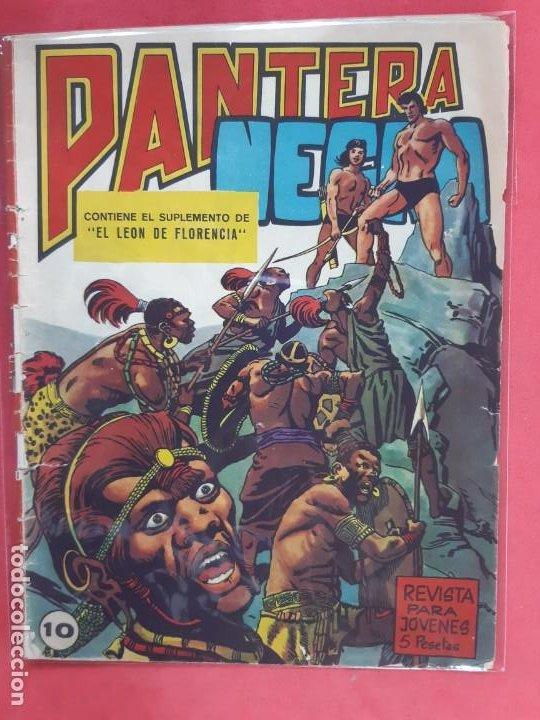 PANTERA NEGRA Nº 10 REVISTA PARA JÓVENES MAGA (Tebeos y Comics - Maga - Pantera Negra)