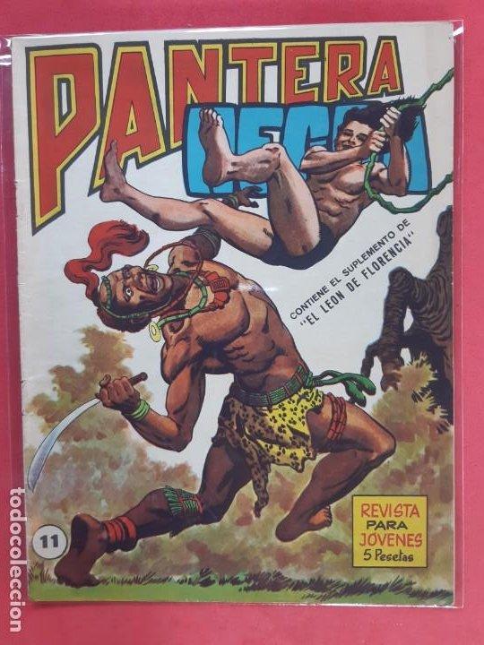 PANTERA NEGRA Nº 11 REVISTA PARA JÓVENES MAGA (Tebeos y Comics - Maga - Pantera Negra)