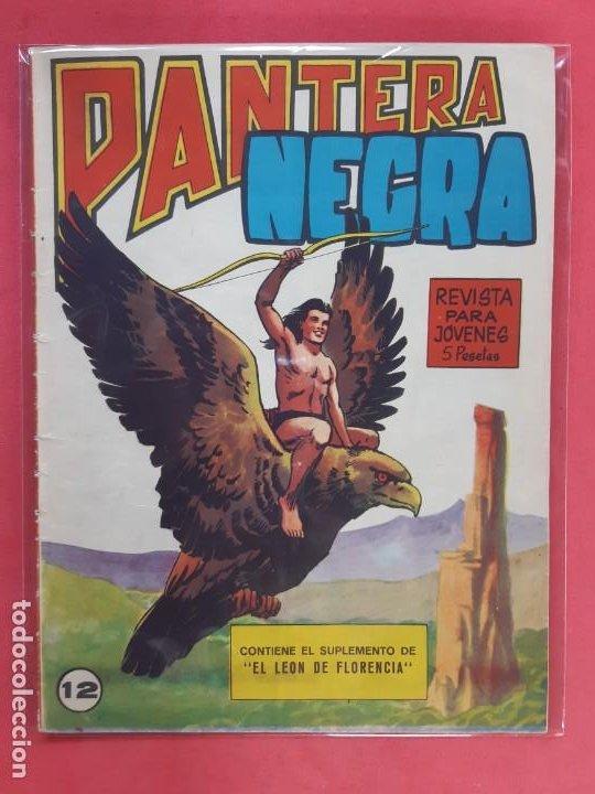PANTERA NEGRA Nº 12 REVISTA PARA JÓVENES MAGA (Tebeos y Comics - Maga - Pantera Negra)