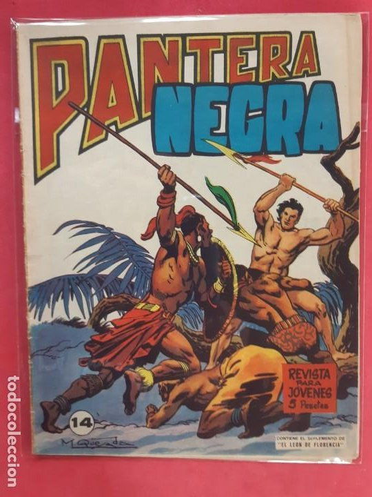 PANTERA NEGRA Nº 14 REVISTA PARA JÓVENES MAGA (Tebeos y Comics - Maga - Pantera Negra)