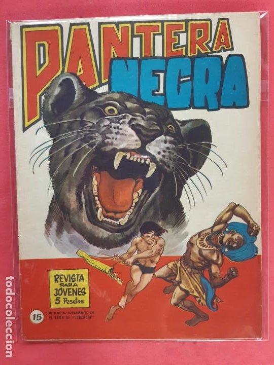 PANTERA NEGRA Nº 15 REVISTA PARA JÓVENES MAGA (Tebeos y Comics - Maga - Pantera Negra)