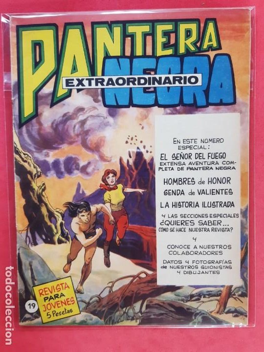 PANTERA NEGRA Nº 19 REVISTA PARA JÓVENES MAGA (Tebeos y Comics - Maga - Pantera Negra)