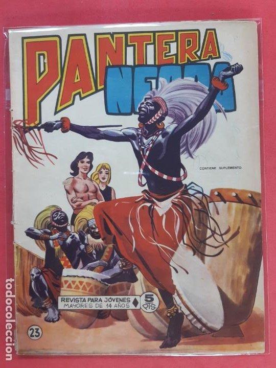 PANTERA NEGRA Nº 23 REVISTA PARA JÓVENES MAGA (Tebeos y Comics - Maga - Pantera Negra)