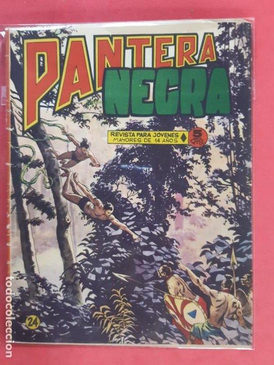 PANTERA NEGRA Nº 24 REVISTA PARA JÓVENES MAGA (Tebeos y Comics - Maga - Pantera Negra)