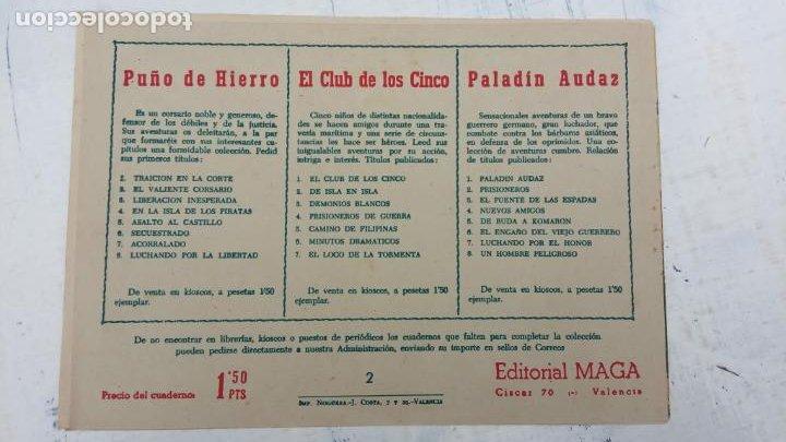 Tebeos: EL CAPITÁN VALIENTE ORIGINAL LOTE 2 AL 18 MENOS EL 15, MAGNÍFICO ESTADO, VER TODAS LAS PORTADAS - Foto 7 - 188515530