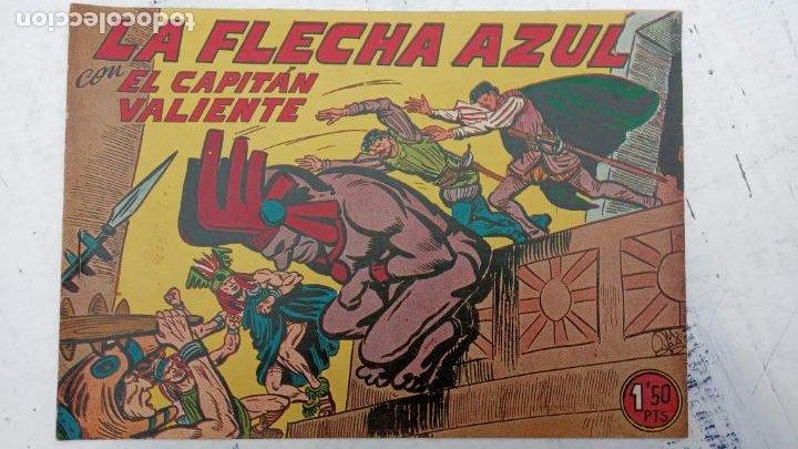 Tebeos: EL CAPITÁN VALIENTE ORIGINAL LOTE 2 AL 18 MENOS EL 15, MAGNÍFICO ESTADO, VER TODAS LAS PORTADAS - Foto 8 - 188515530