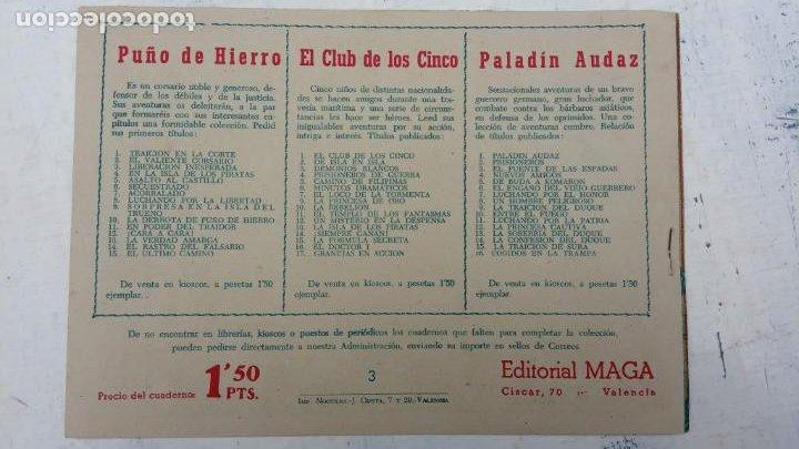 Tebeos: EL CAPITÁN VALIENTE ORIGINAL LOTE 2 AL 18 MENOS EL 15, MAGNÍFICO ESTADO, VER TODAS LAS PORTADAS - Foto 9 - 188515530