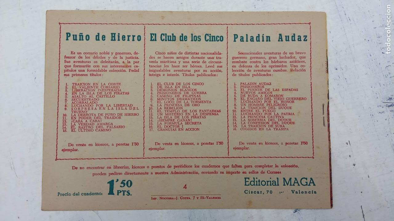 Tebeos: EL CAPITÁN VALIENTE ORIGINAL LOTE 2 AL 18 MENOS EL 15, MAGNÍFICO ESTADO, VER TODAS LAS PORTADAS - Foto 11 - 188515530