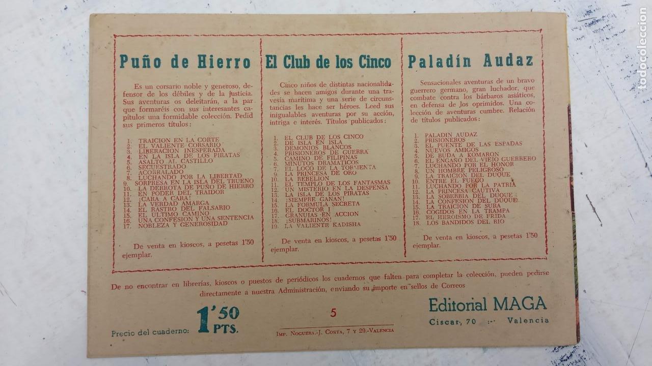 Tebeos: EL CAPITÁN VALIENTE ORIGINAL LOTE 2 AL 18 MENOS EL 15, MAGNÍFICO ESTADO, VER TODAS LAS PORTADAS - Foto 17 - 188515530