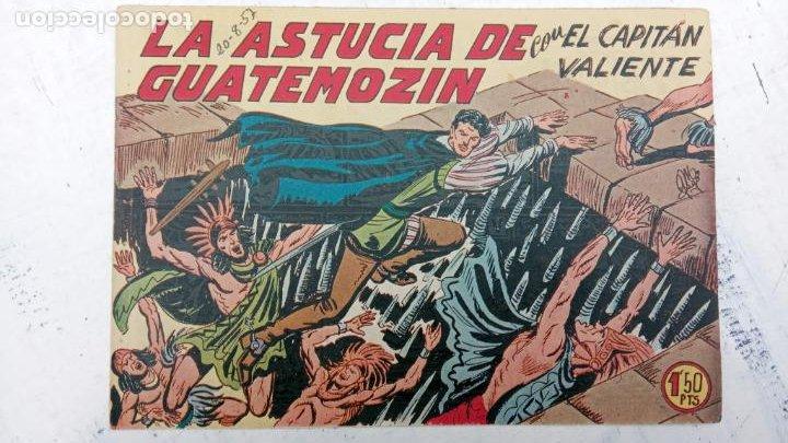 Tebeos: EL CAPITÁN VALIENTE ORIGINAL LOTE 2 AL 18 MENOS EL 15, MAGNÍFICO ESTADO, VER TODAS LAS PORTADAS - Foto 18 - 188515530