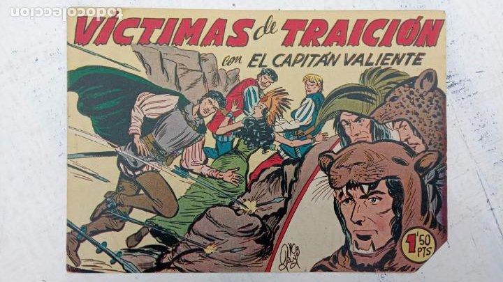 Tebeos: EL CAPITÁN VALIENTE ORIGINAL LOTE 2 AL 18 MENOS EL 15, MAGNÍFICO ESTADO, VER TODAS LAS PORTADAS - Foto 20 - 188515530