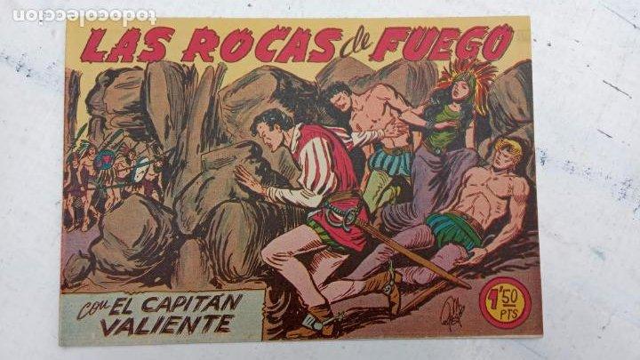 Tebeos: EL CAPITÁN VALIENTE ORIGINAL LOTE 2 AL 18 MENOS EL 15, MAGNÍFICO ESTADO, VER TODAS LAS PORTADAS - Foto 22 - 188515530