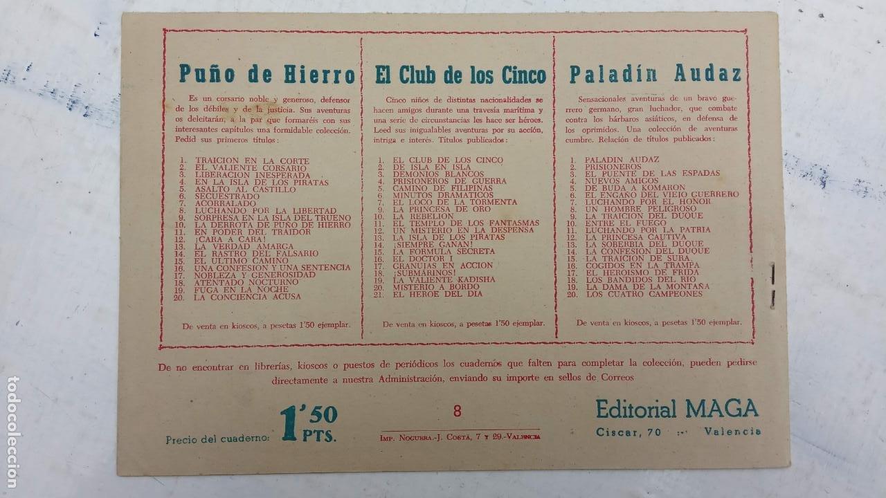 Tebeos: EL CAPITÁN VALIENTE ORIGINAL LOTE 2 AL 18 MENOS EL 15, MAGNÍFICO ESTADO, VER TODAS LAS PORTADAS - Foto 23 - 188515530
