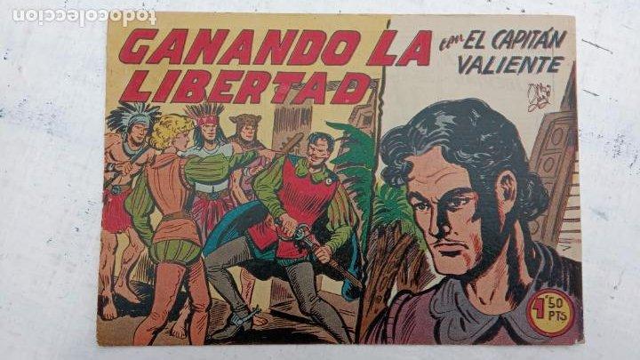 Tebeos: EL CAPITÁN VALIENTE ORIGINAL LOTE 2 AL 18 MENOS EL 15, MAGNÍFICO ESTADO, VER TODAS LAS PORTADAS - Foto 24 - 188515530